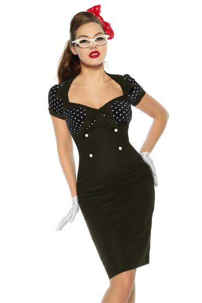 Vintage-Kleid im Pin Up Style
