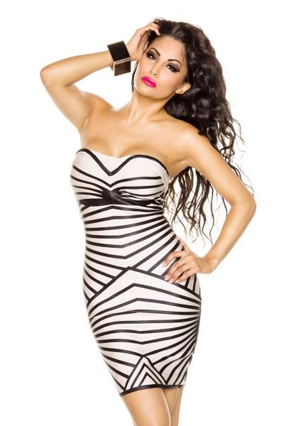 Exklusives Bandage-Shape Kleid