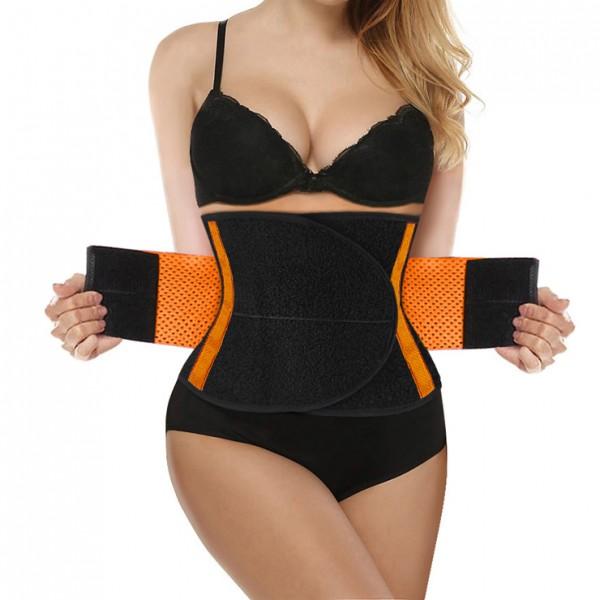 Trainings-Taillen Trainer - schwarz/orange