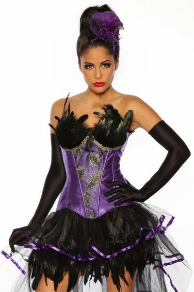 Burlesque Corsage lila