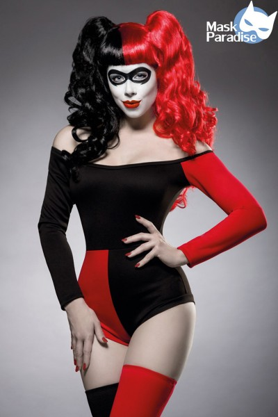 Crazy Harley Quinn Kostümset