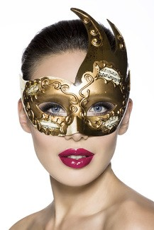 Coulored evenings and carnaval mask