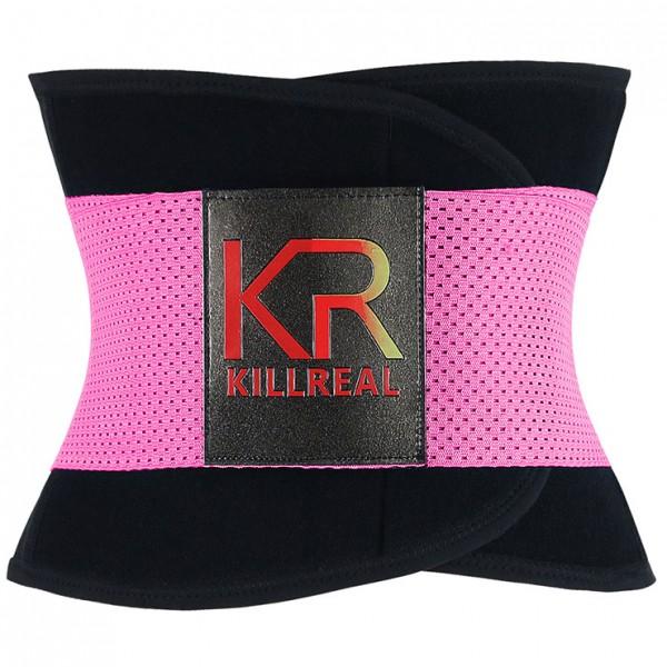 Gym Taillen Trainer KR - schwarz/pink