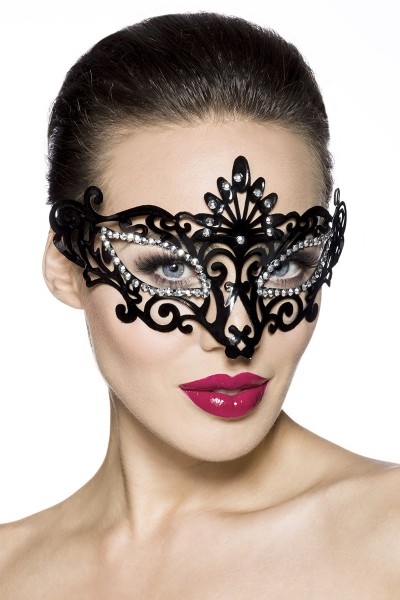 Carnaval mask with sparkling stones for coulored evenings