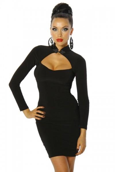 Black Sexy Dress mit Schnürung