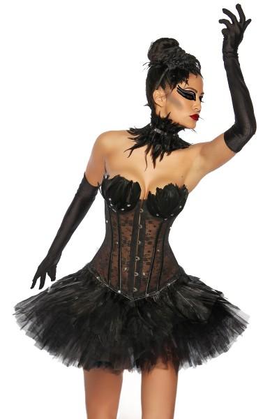 Corsage- Black Swan
