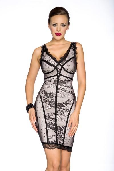 Bandage-Shape Kleid mit Spitze