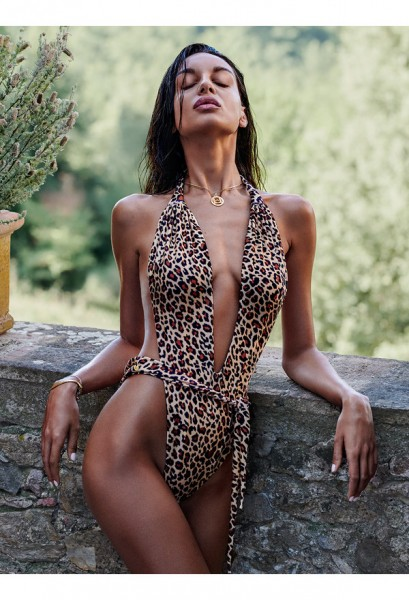 Cancunella swimsuit leo