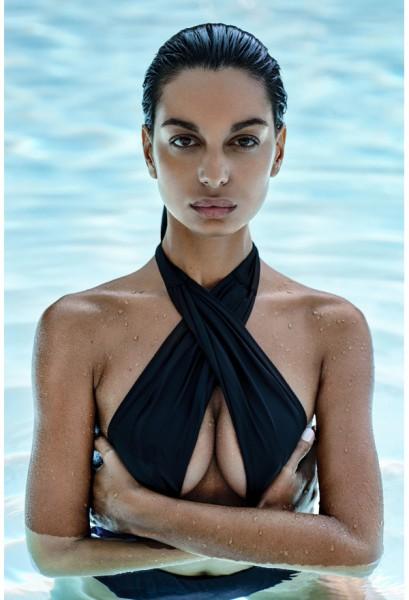 Acantila swimsuit black