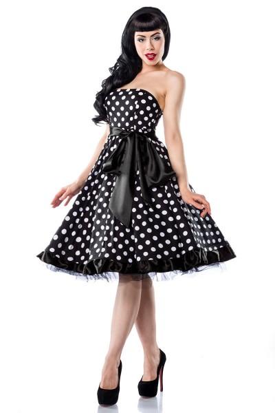 Rockabilly Bandeau-Kleid