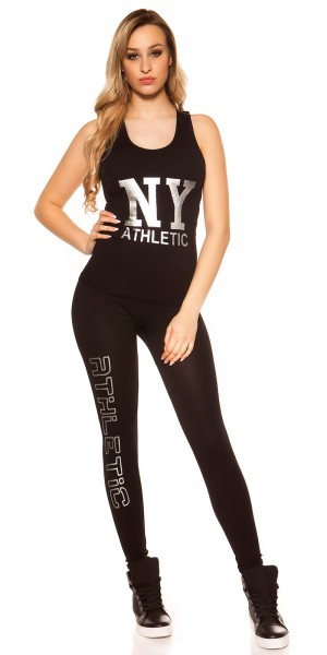 """Trendy Workout Outfit """"NY ATHLETIC"""""""